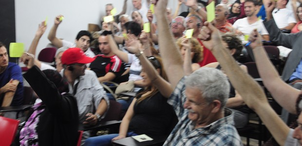 shows progress in organizing Jewish and Arab workers The independent trade union MAAN (formerly known in English as WAC) held its annual General Assembly in Tel Aviv on June 15,...