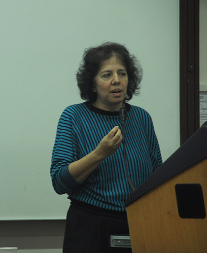 Nitsa Kaliner Kasir, head of the Labor and Labor Policy Division at the Bank of Israel's Research Department