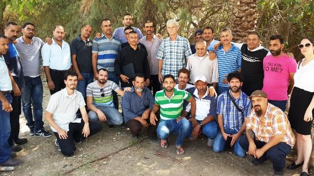 zarfaty workers after strike 27-7