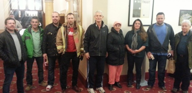 <p>A WAC-MAAN delegation visited the UK last November at the invitation of the British Fire Brigade Union (FBU). WAC-MAAN leaders, Assaf Adiv and Waffa Tyara, joined 65 FBU activists in a seminar held in the city of Sheffield in the north of England.</p>