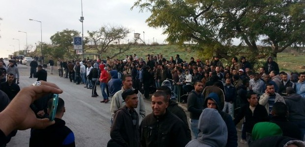 <p>The hours-long delay leads to friction between the security staff and Palestinian workers trying to reach their jobs. The workers are sanctioned with pay cuts and fines for arriving late to their shifts.</p>