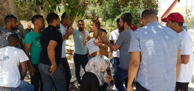 The independent trade union center WAC-MAAN releases a comprehensive report summarizing ten years of struggle to organize Palestinian workers in Israeli settlements in the occupied West Bank The report released […]