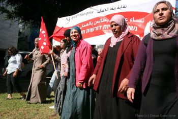 In these very days, marking 100 years of Women's International Day, a new chapter is being written in history by millions of women and men in Tunisia, Egypt, Libya, Yemen, Bahrain and elsewhere. We salute the workers who first raised the banner of revolt in Egypt in 2008, who persisted and who now see the fruit of their sacrifices. This is the springtime of the peoples in the Arab world, opening a gateway of hope for all. At last we may dare to believe that we can determine our destinies, securing the right to live and work in dignity.
