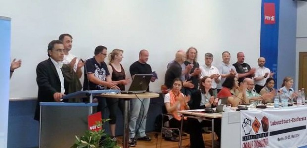 Over 300 activists, trade union leaders and social organisations gathered in Berlin at the end of May to coordinate action plans and to discuss how to face the capitalist crisis that is threatening workers worldwide.