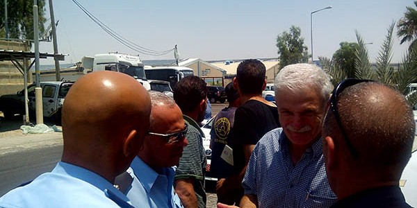 <p>The workers began the strike two days ago in light of the Zarfati management's ongoing refusal to negotiate, which peaked with the firing of the head of their Workers' Committee Hatem Abu Ziadeh.</p>