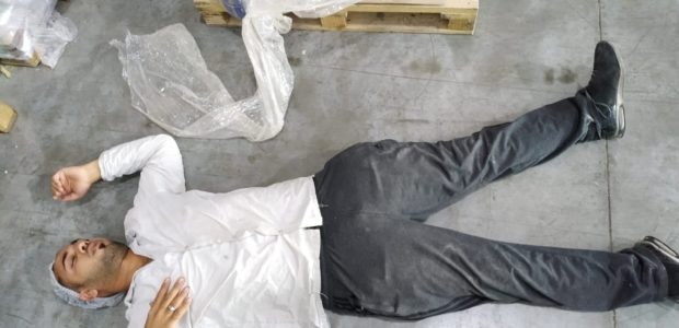 On November 4th, Muhammad Abu Sneineh, a production worker in Maya Foods factory in Mishor Edomim Industrial Zone, collapsed at work due to acute pain in his back. His co-workers […]