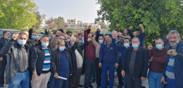 "Workers at the ""Yamit Sinon"" factory, most of them from the city of Tulkarm in the West Bank, declared in a labor rally held on Friday January 1, 2021, that […]"